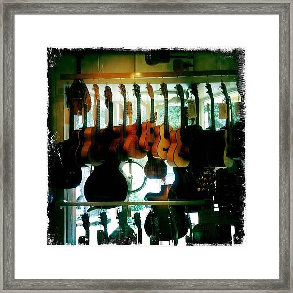 Instruments Framed Print