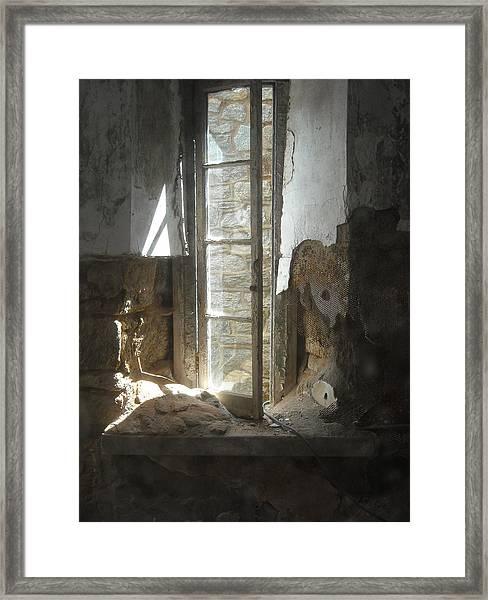 Interior Window Framed Print