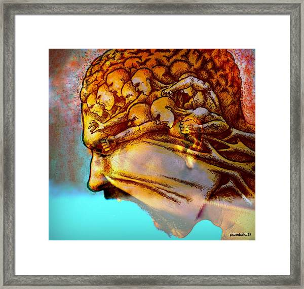 Internal Restlessness Eternal Framed Print by Paulo Zerbato