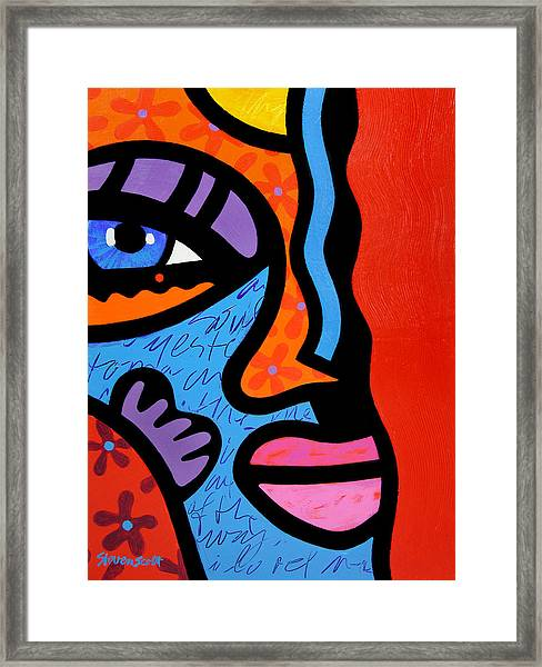 Into The Groove Framed Print