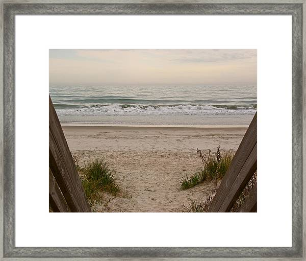 Framed Print featuring the photograph Invitation To Relaxation by Francis Trudeau