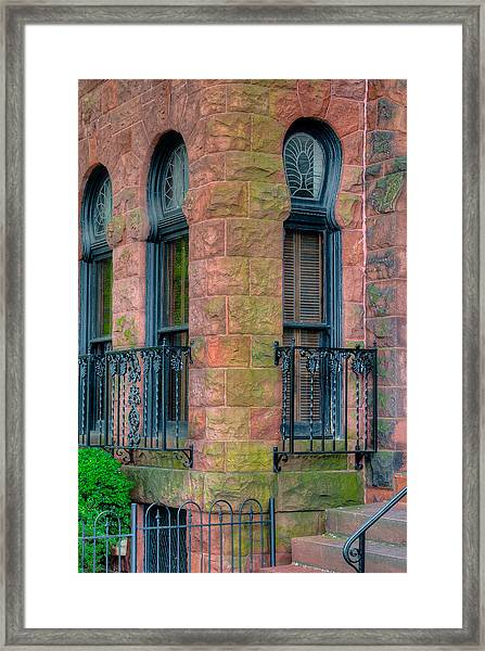 Iron And Stone Framed Print