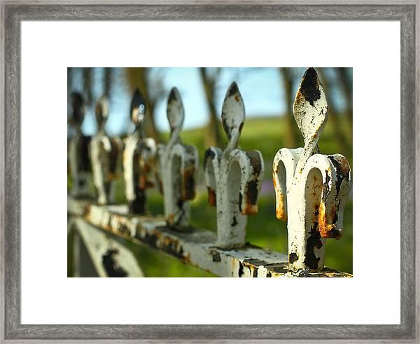 Iron Gate II Framed Print