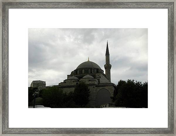 Framed Print featuring the photograph Istanbul by Ralph Jones