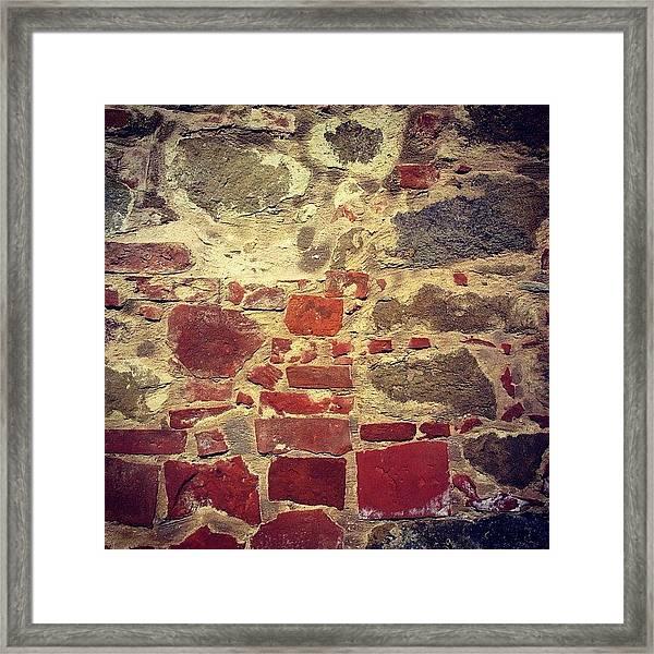 Italian Wall Framed Print