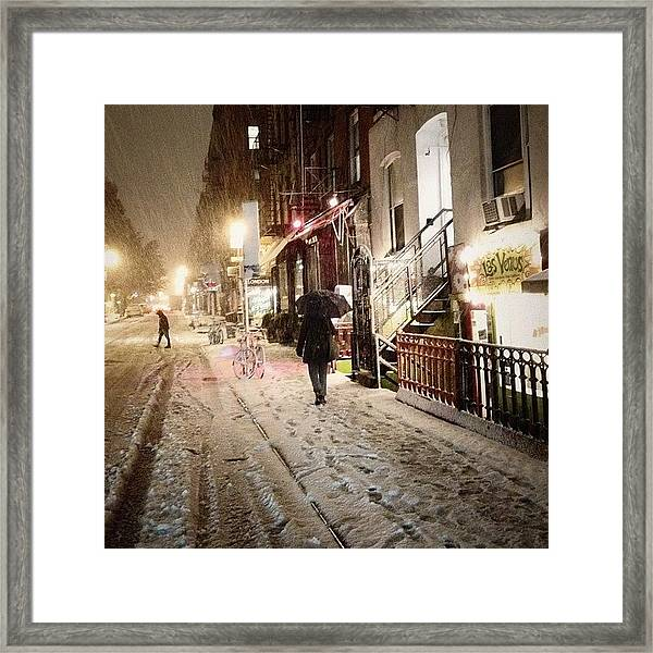 It's So Beautiful Outside Right Now. I Framed Print