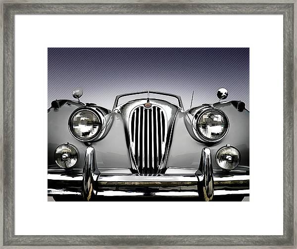 Jag Convertible Framed Print