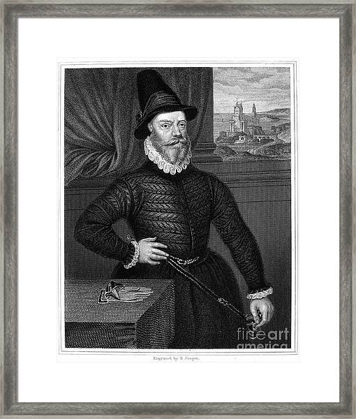 James Douglas (1525-1581) Framed Print