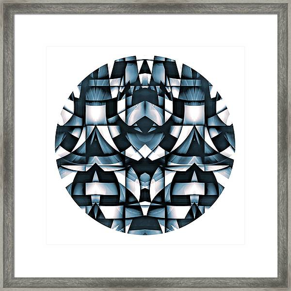 Framed Print featuring the digital art Japan by Visual Artist Frank Bonilla