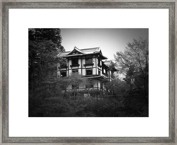 Japanese Traditional House Framed Print