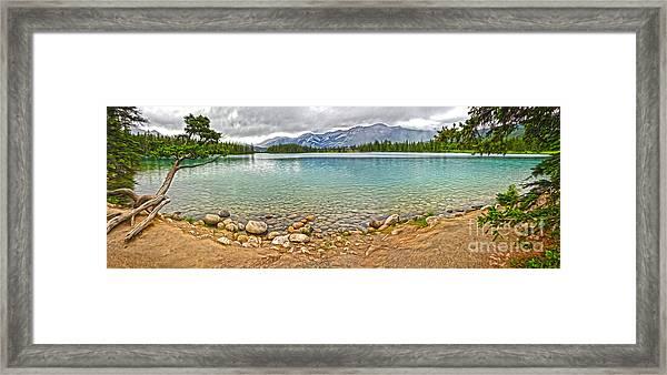 Jasper National Park - Maligne Lake Framed Print