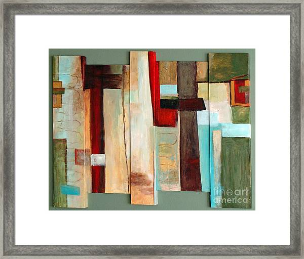Jewel Five Framed Print
