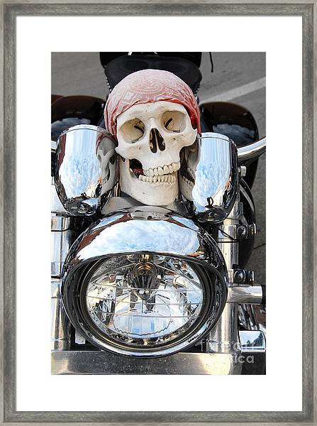 Jimmy Bones Framed Print