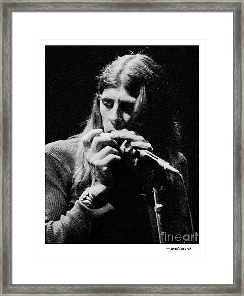 John Mayall 2 Framed Print