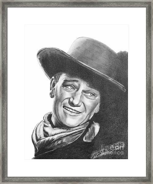 John Wayne   Dreamer Framed Print