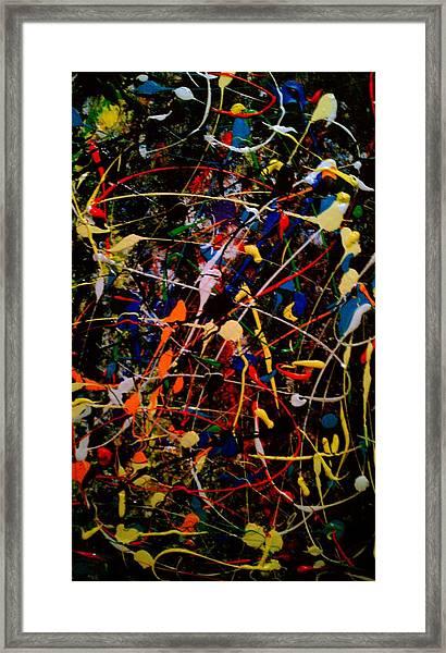 joy Framed Print by Gloria Warren