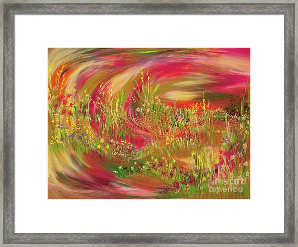 Joy Framed Print by Lisa Bell