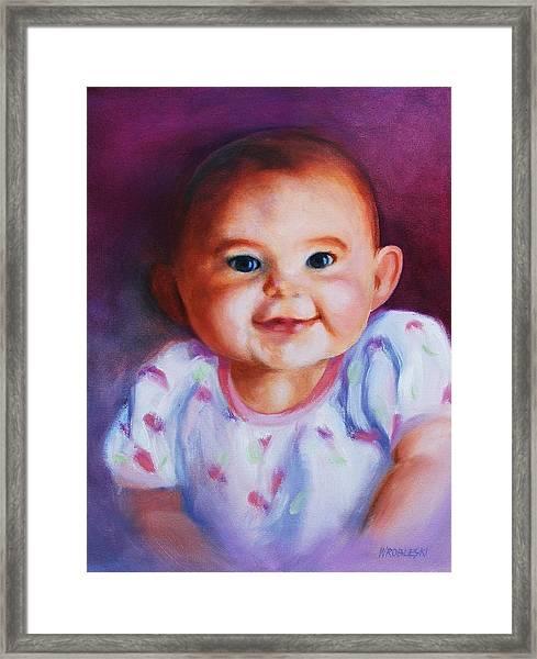 Julianne Framed Print