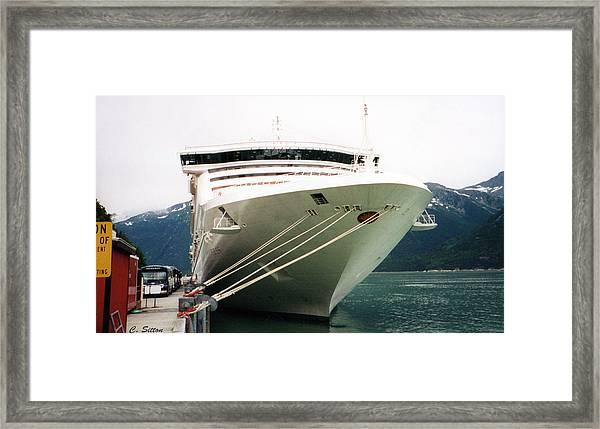 Juneau Princess Framed Print