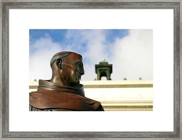 Junipero Serra Framed Print
