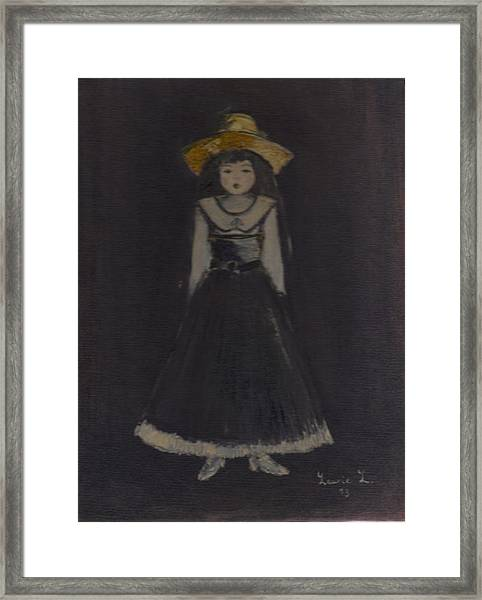 Just A Beautiful Country Girl... Framed Print
