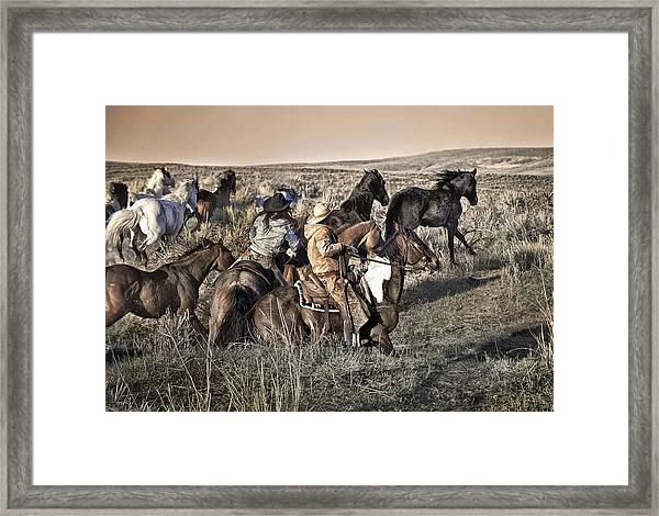 Just Another Monday Morning Framed Print