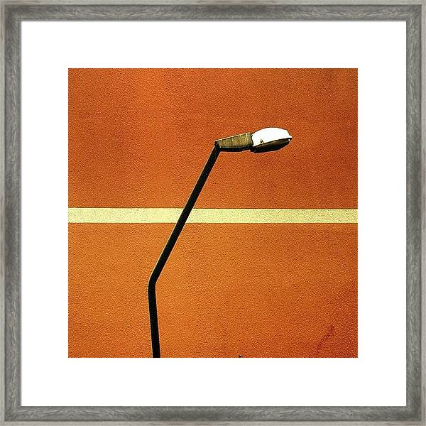 Just As Our Eyes Need Light In Order To Framed Print