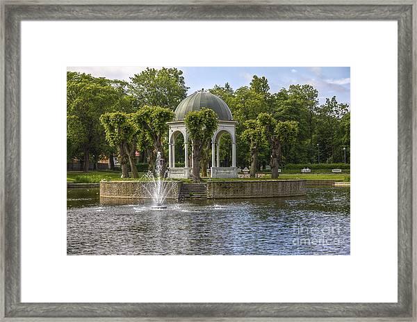 Kadriorg Park 2 Framed Print