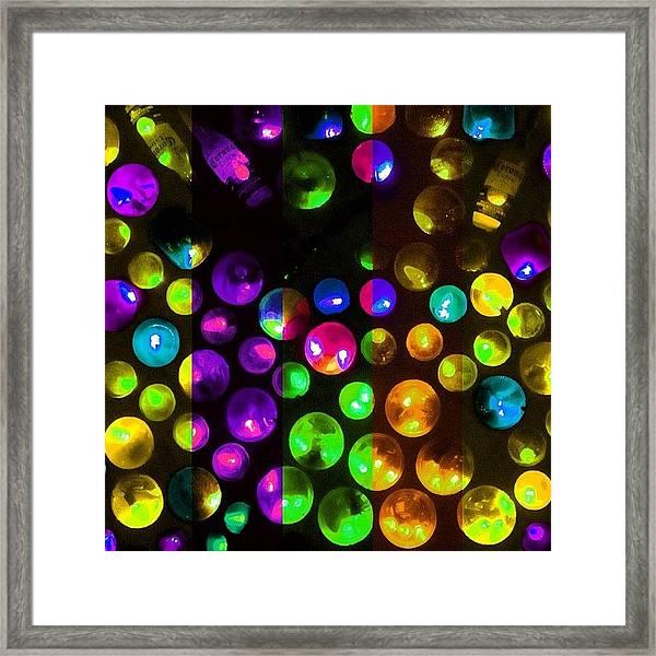 Kaleidoscopic Deconstruction Framed Print