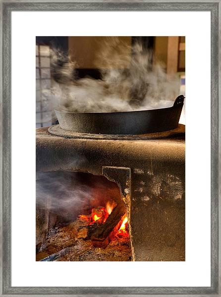 Kamado Framed Print