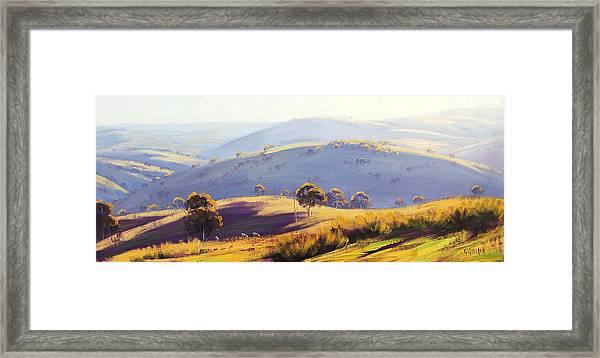 Kanimbla Valley Framed Print by Graham Gercken