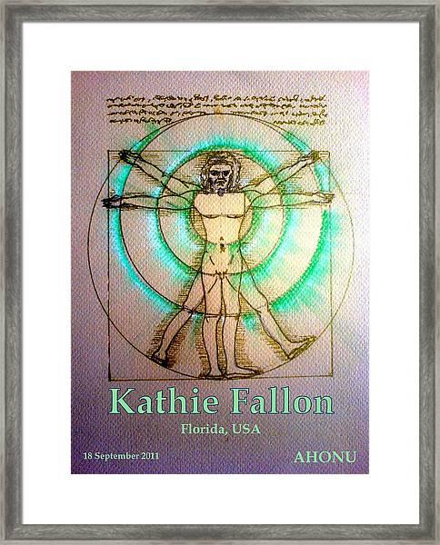 Kathie Fallon Framed Print