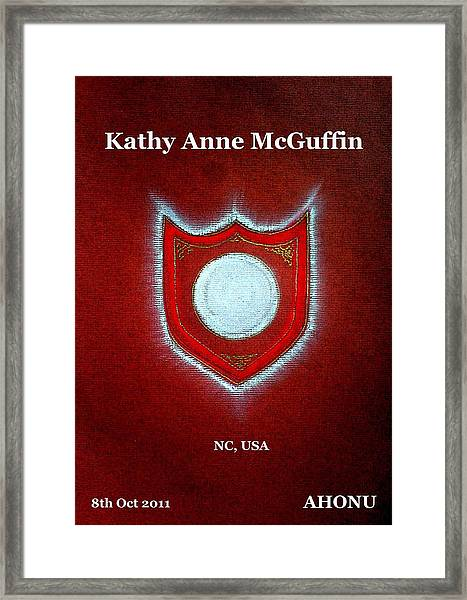 Kathy Anne Mcguffin Framed Print