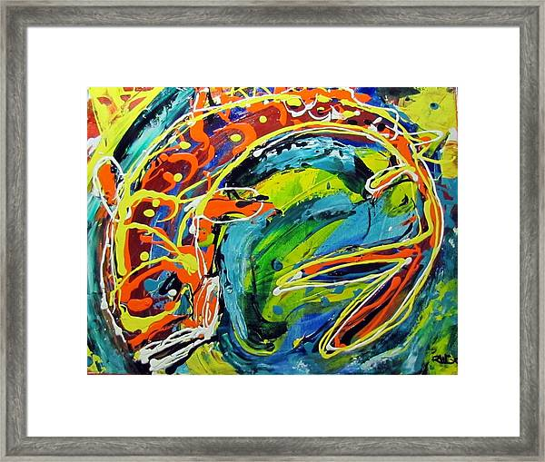 Keen Senses Framed Print