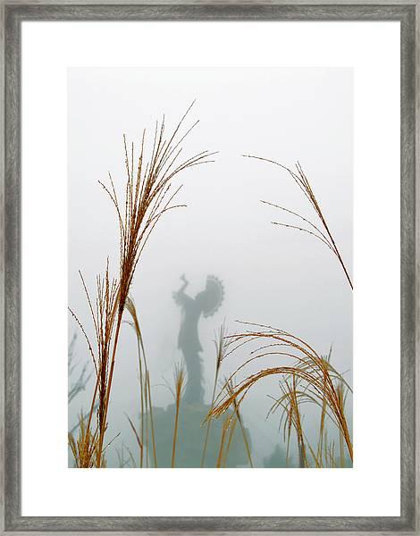 Keeper Of The Fog Framed Print