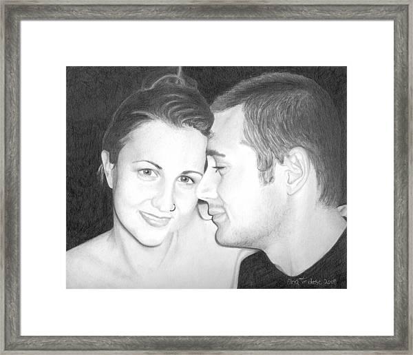 Kelly And Chris Lanktree Framed Print
