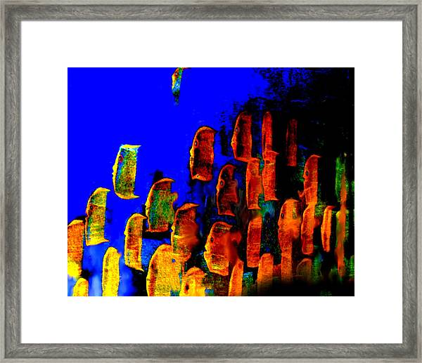 Key Largo Reefers  Framed Print
