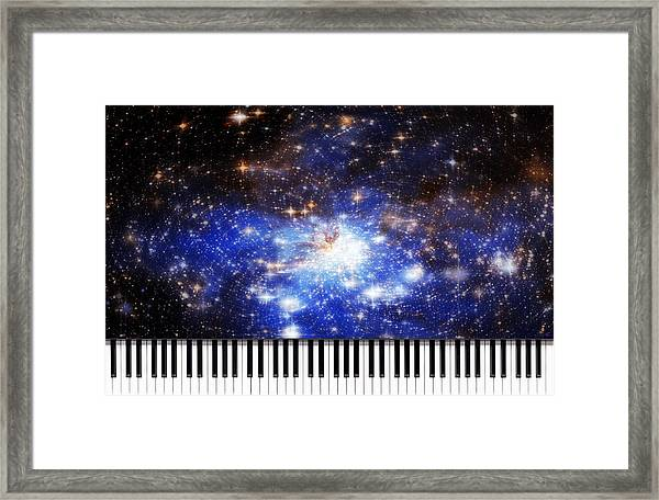 Keys Of The Divine Framed Print