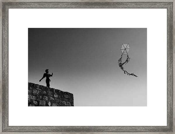 Kite-2 Framed Print