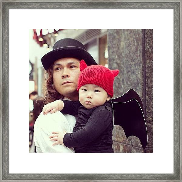 Koutbomb Halloween Age 0 Framed Print