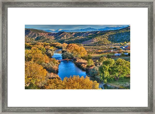 La Bolsa Framed Print