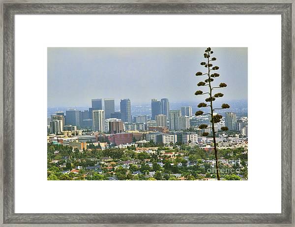 L.a County Framed Print