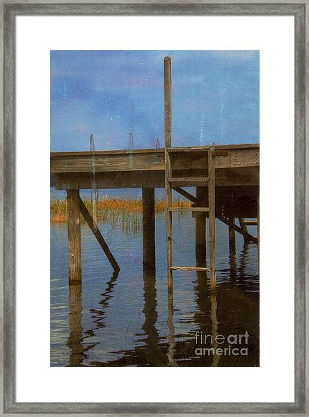 Ladder Framed Print