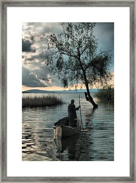 Lake - 2 Framed Print