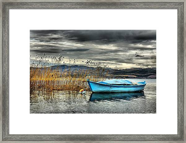 Lake - 4 Framed Print by Okan YILMAZ