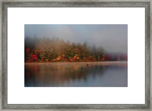 Lake Chocorua Sunrise Framed Print