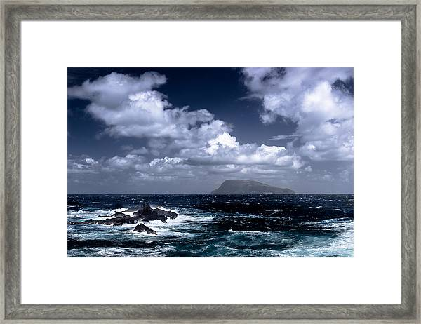 Land In Sight Framed Print