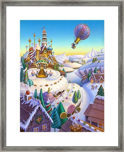 Land Of Sweets Framed Print