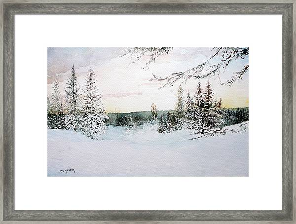 Landscape21012 Framed Print