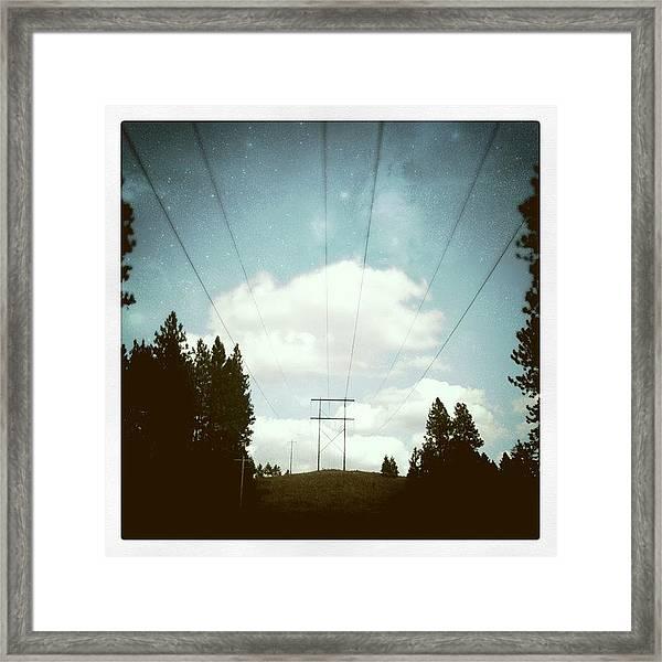 Laputa Framed Print
